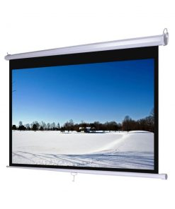 Jual Layar D-Light Manual Pull Down Wall Screen 1824L (120