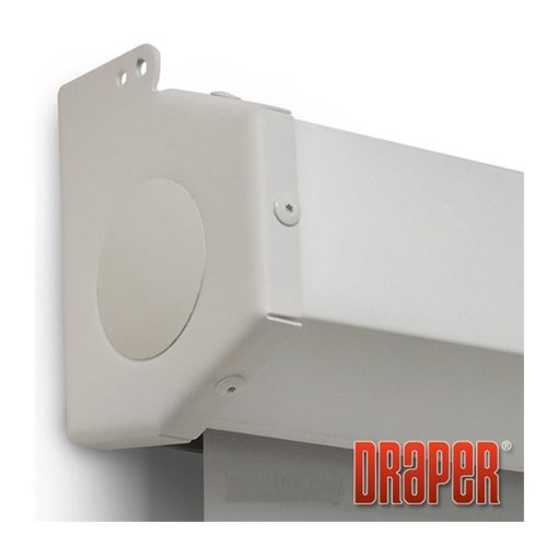 "Draper Manual Pull Down Wall Screen 1520D (100"" Diagonal)"