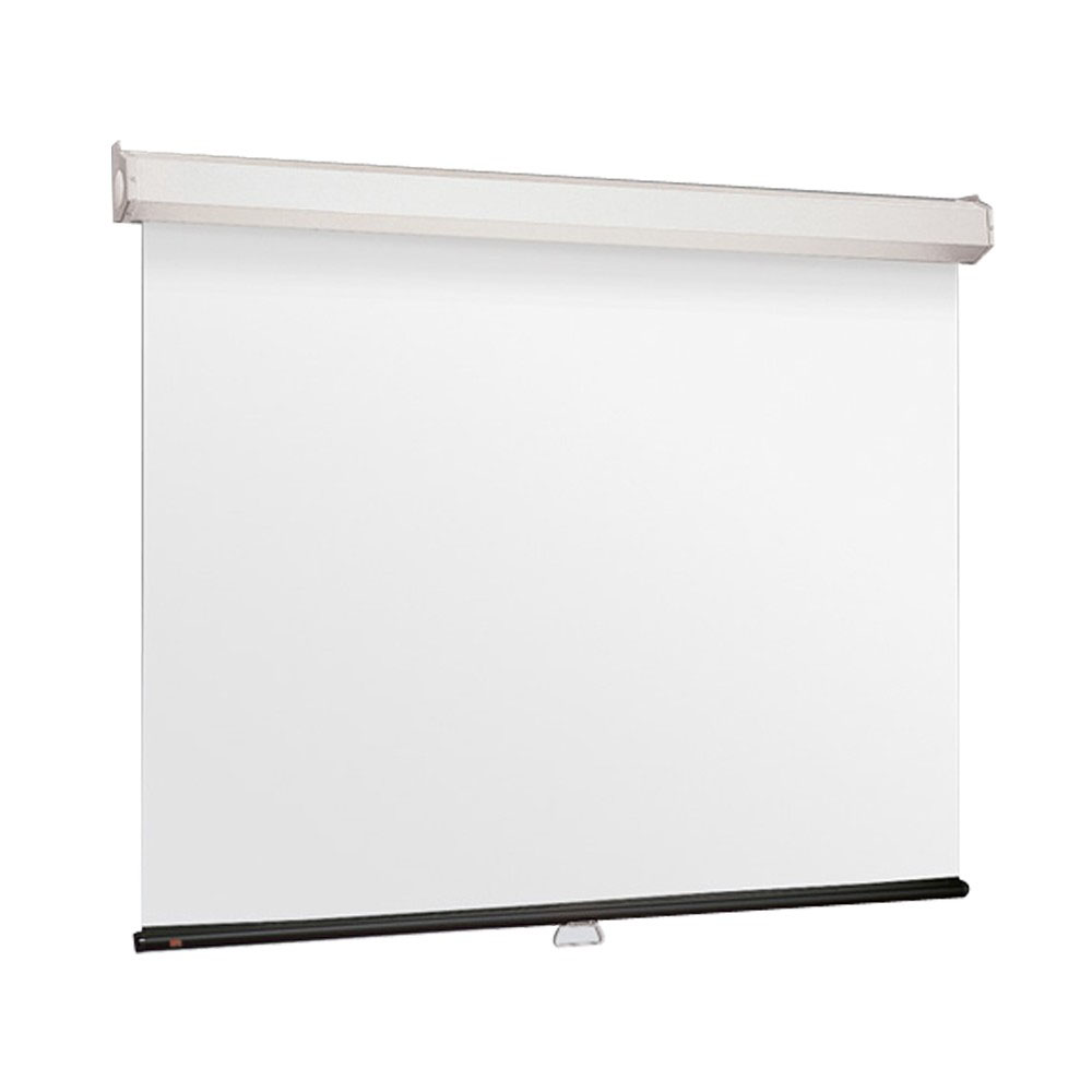 "Jual Layar Draper Manual Pull Down Wall Screen 2121D (84"") Murah"