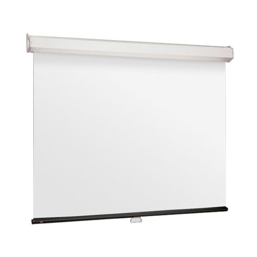 "Jual Layar Draper Manual Pull Down Wall Screen 2424D (96"") Murah"