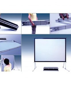 Layar Proyektor Screenview Folding Screen Front Projection 320 X 427cm (200 Diagonal)