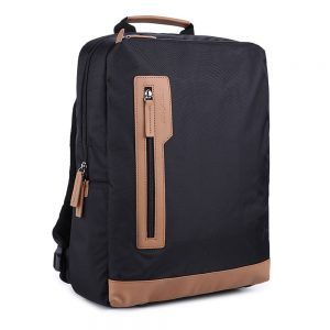 "Jual Tas Lenovo Samsonite Laptop Backpack B4018S - 15.6"" - Hitam/Cokelat Murah"