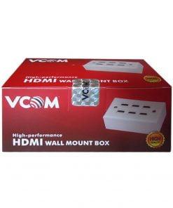Jual Vcom HDMI Wall Plate & Outbow Terminal Box Murah