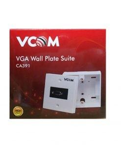 Jual Vcom VGA Wall Plate & Outbow Terminal Box Murah