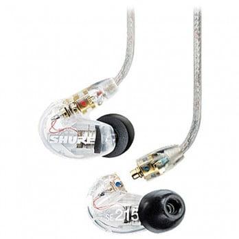 harga SHURE Earphone SE215 Clear - Sound Isolating Earphones Dealharga.com