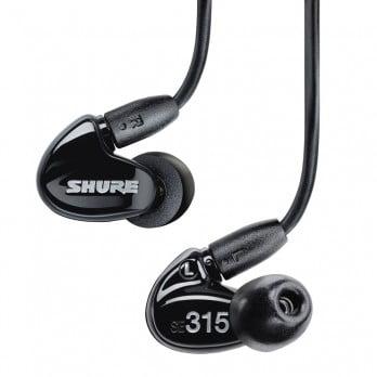 harga SHURE Earphone SE315 Black - Sound Isolating Earphones Dealharga.com