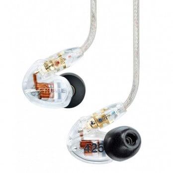 harga SHURE Earphone SE425 Clear - Sound Isolating Earphones Dealharga.com