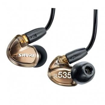harga SHURE Earphone SE535 Bronze Metalic - Sound Isolating Earphones Dealharga.com