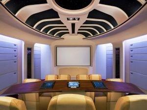 10 Desain Home Theater Minimalis Unik Dan Keren 1